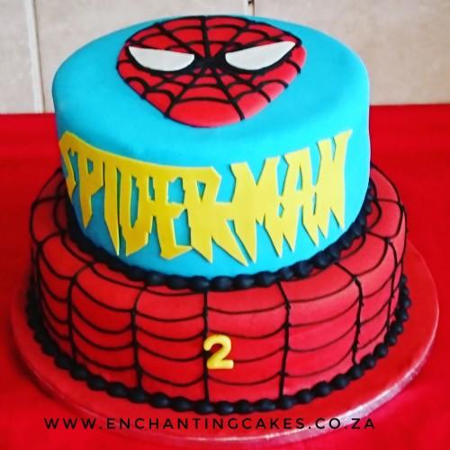 2 Tier Spiderman Bir